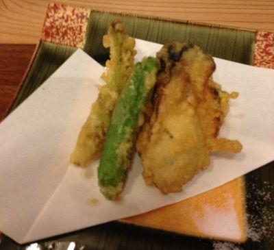 でかい牡蛎の天ぷら