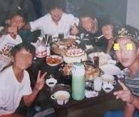 幼き頃の長男の誕生日会