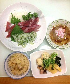 5月6日のタケノコ晩御飯