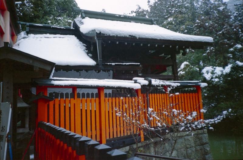 雪の熊鷹社  2