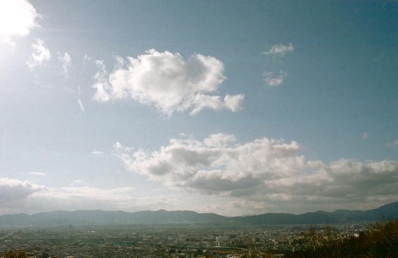 京都市内の展望