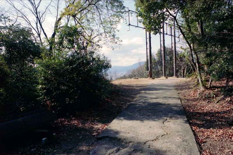 荒神峰の展望台