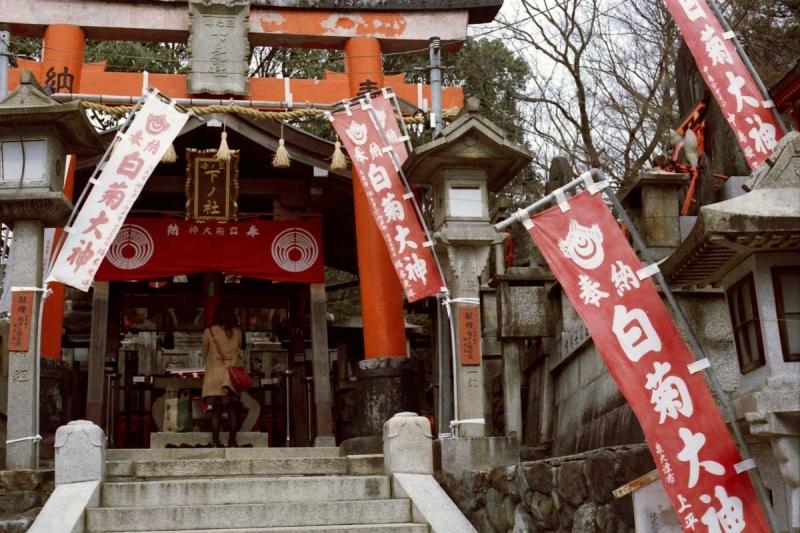 白菊大神の社