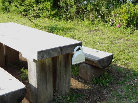 テーブルほうき