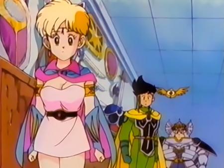 ドラゴンクエスト ダイの大冒険のレオナ姫N11