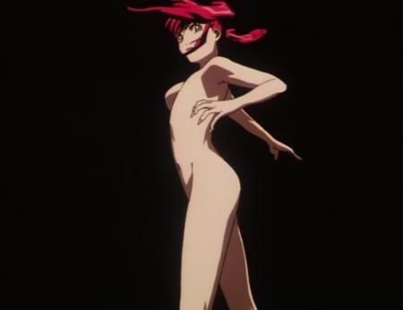 超神姫ダンガイザー3 アイリーンの全裸変身シーン13