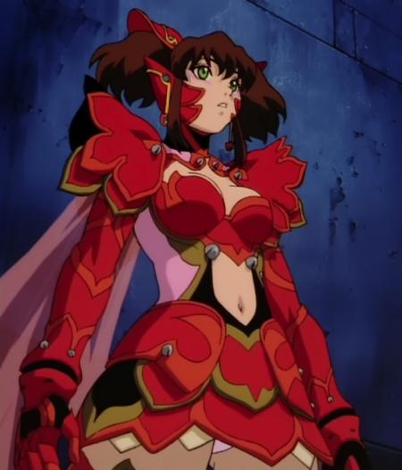 超神姫ダンガイザー3 美剣陽菜のパンチラ18