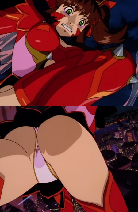 超神姫ダンガイザー3 美剣陽菜のパンチラ19