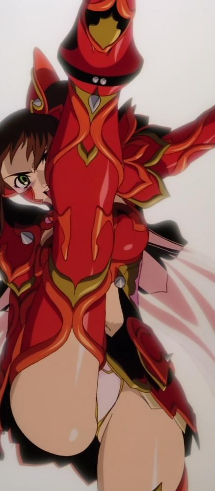 超神姫ダンガイザー3 美剣陽菜のパンチラ20