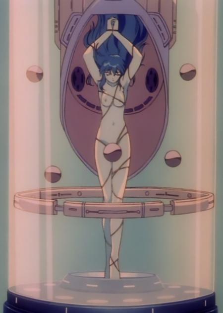 超神姫ダンガイザー3 アイリーンの全裸乳首28