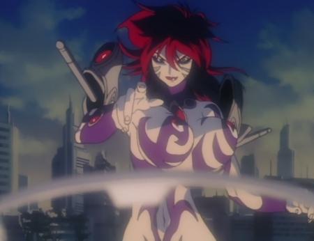 超神姫ダンガイザー3 サーファイアの全裸戦闘服30