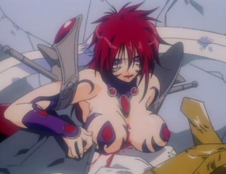 超神姫ダンガイザー3 サーファイアの胸裸戦闘服31