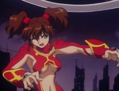 超神姫ダンガイザー3 美剣陽菜の戦闘服34