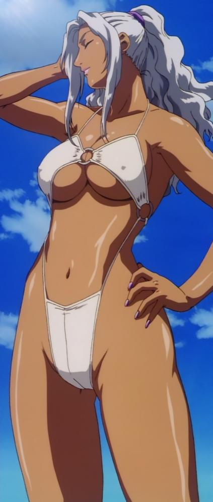 超神姫ダンガイザー3 シンディ・シャハーニの水着姿ビキニ36