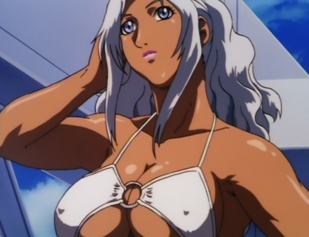 超神姫ダンガイザー3 シンディ・シャハーニの水着姿ビキニ37