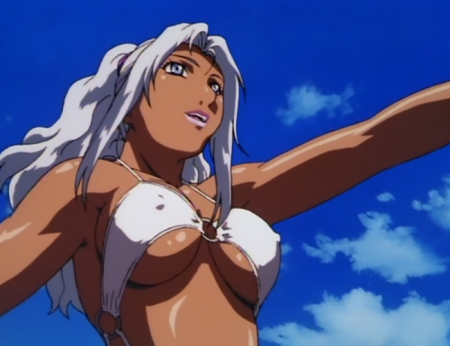 超神姫ダンガイザー3 シンディ・シャハーニの水着姿ビキニ38