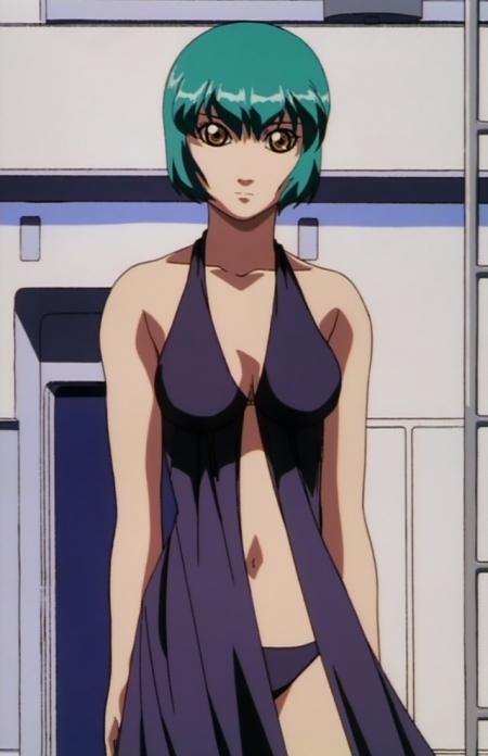 超神姫ダンガイザー3 鳳麗華の水着姿ビキニ41