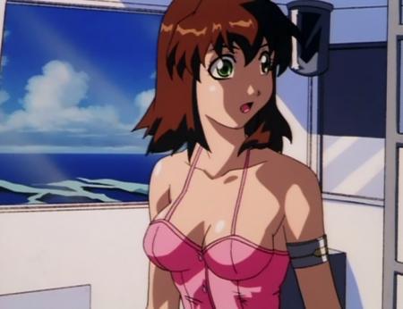超神姫ダンガイザー3 美剣陽菜の水着姿ビキニ42