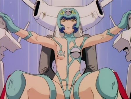 超神姫ダンガイザー3 鳳麗華の胸裸戦闘コスチューム56