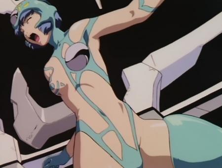 超神姫ダンガイザー3 鳳麗華の胸裸戦闘コスチューム57