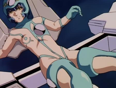超神姫ダンガイザー3 鳳麗華の胸裸戦闘コスチューム58