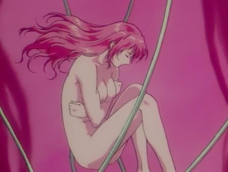 超神姫ダンガイザー3 アイナの全裸乳首61x