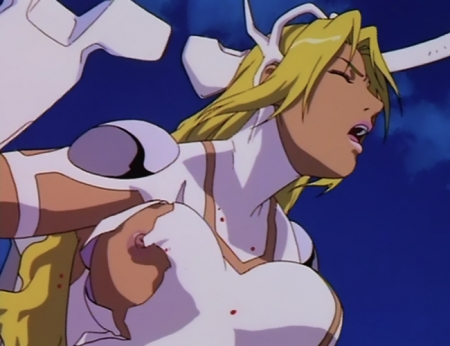 超神姫ダンガイザー3 シンディ・シャハーニの胸裸乳首70