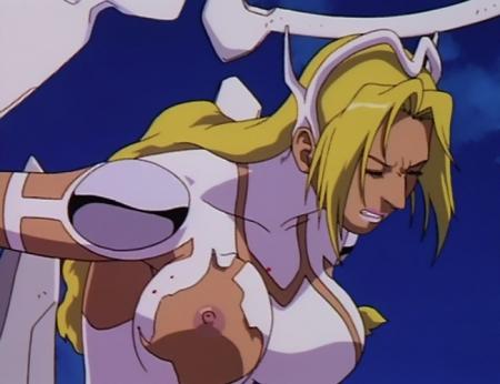 超神姫ダンガイザー3 シンディ・シャハーニの胸裸乳首71