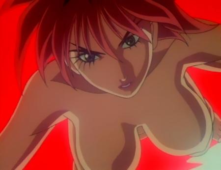 超神姫ダンガイザー3 サーファイアの胸裸73