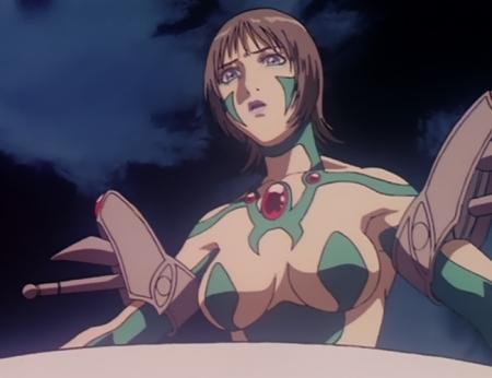 超神姫ダンガイザー3 ディーネの胸裸戦闘コスチューム76