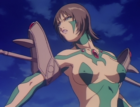 超神姫ダンガイザー3 ディーネの胸裸戦闘コスチューム77