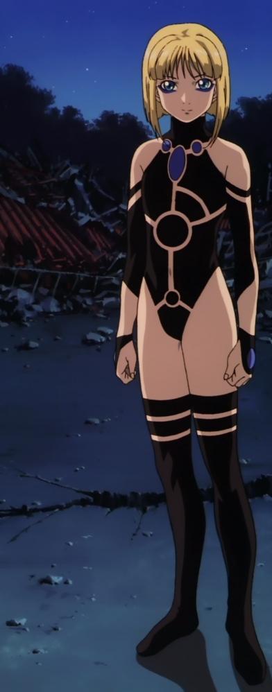 超神姫ダンガイザー3のピクシスの戦闘コスチュームN6