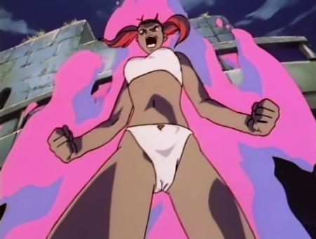 神秘の世界エルハザード2 シェーラの下着姿ブラパンツ11