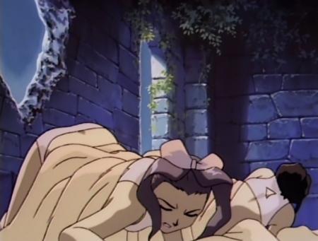 神秘の世界エルハザード2 ミーズ・ミシュタルの下着姿ブラパンツ12