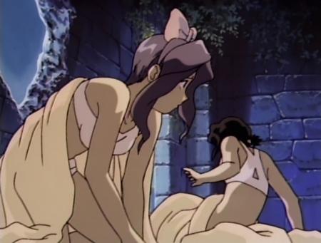 神秘の世界エルハザード2 ミーズ・ミシュタルの下着姿ブラパンツ13