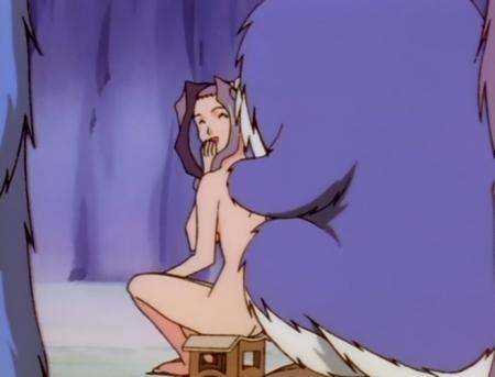 異次元の世界エルハザード 藤沢ミーズの全裸温泉入浴シーン19