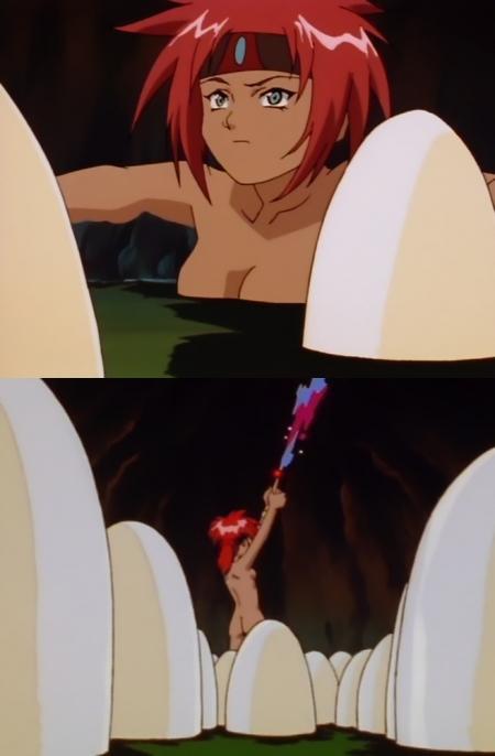 異次元の世界エルハザード シェーラの全裸入浴シーン3