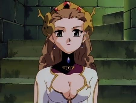 神秘の世界エルハザードTV版 ルーン・ヴェーナスの胸裸6