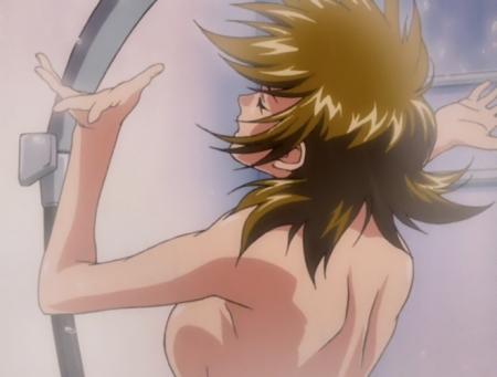 機動戦士ガンダムSEED DESTINY タリア・グラディスの胸裸シャワーシーン34