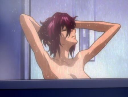 機動戦士ガンダムSEED DESTINY ルナマリア・ホークの胸裸シャワーシーン7
