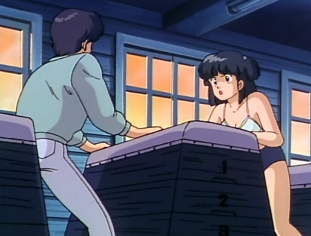 めぞん一刻TV版 八神いぶきの下着姿ブラブルマ65