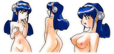 OSアイドルWinちゃんのイラスト全裸乳首14