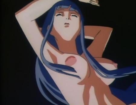 銀装騎攻オーディアン ネル・マクマハウゼンの胸裸乳首1