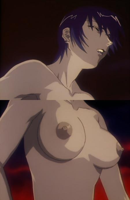 銀装騎攻オーディアン 哉生香織の胸裸乳首36