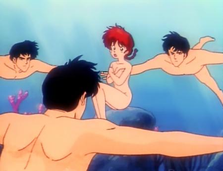 らんま1/2TV版 早乙女らんまの全裸19