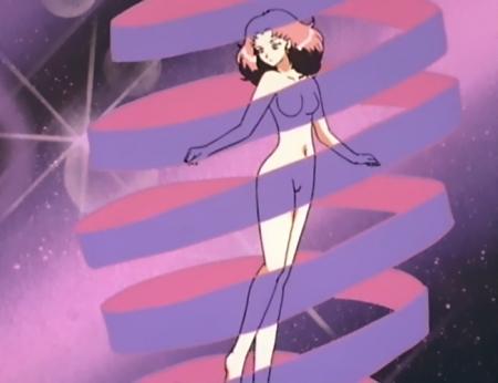 ウェディングピーチDX スカーレット小原の全裸変身シーン100