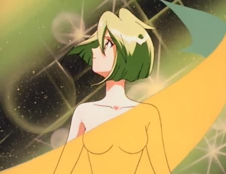 ウェディングピーチDX 珠野ひなぎくの胸裸変身シーン53