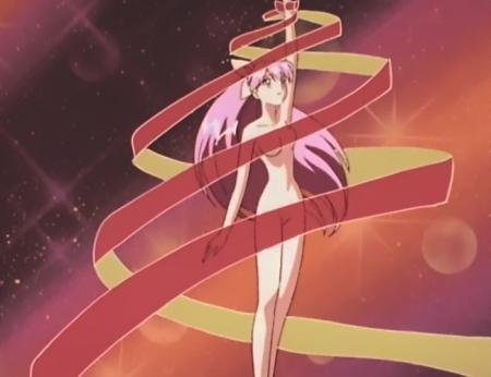 ウェディングピーチDX 花咲ももこの全裸変身シーン5