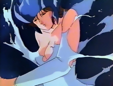レイナ剣狼伝説 レイナ・ストールの胸裸転生シーン3