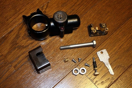 mercedes benz key cylinder